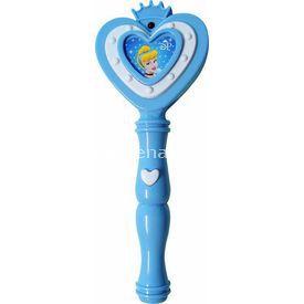 Necotoys Disney Prenses Cinderella Sesli Ve Işıklı Asa Minik Hediyelikler