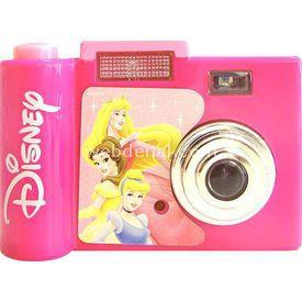 Necotoys Disney Prenses Sesli Fotoğraf Makinesi Minik Hediyelikler