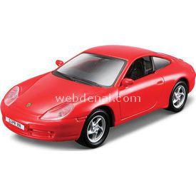 Maisto 1997 Porsche Carrera 1:36 Çek Bırak Metal Oyuncak Araba Arabalar
