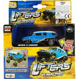 Maisto Lifters Toyota Fj Cruiser Metal Model Kit11cm Puzzle