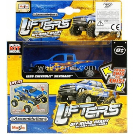 Maisto Lifters 1999 Chevrolet Metal Model Kit 11 Cm Puzzle