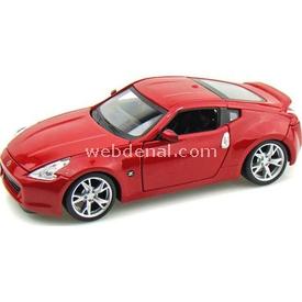 Maisto Nissan 370z 2009 1:24 Model Araba S/e Kırmızı Arabalar