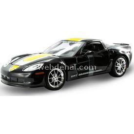 Maisto Chevrolet Corvette Gt1 2009 1:24 Model Araba S/e Siyah Arabalar