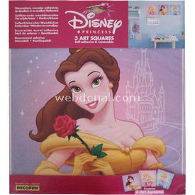 Decofun Prensesler Stickers Okul Etiketleri