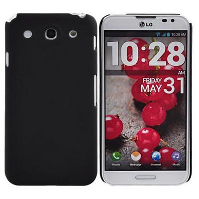 Microsonic Rubber Kılıf Lg Optimus G Pro E980 E985 Siyah Cep Telefonu Kılıfı