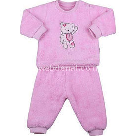 Aziz Bebe 2271 2li Bebek Takımı Pembe 0 Ay (50-56 Cm) Erkek Bebek Takım