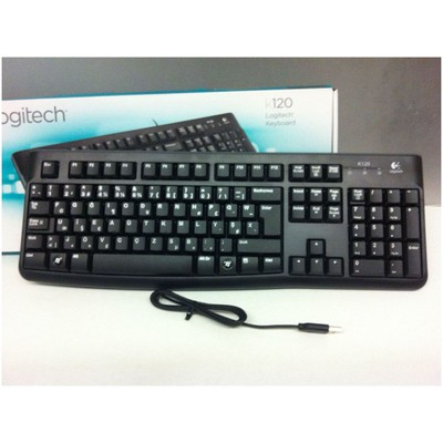 Logitech K120 USB F Klavye (920-004163)