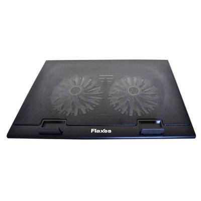 Flaxes Fn-3255 Flaxes Fn-3255 Ayaklı Usb Sessiz Led Çift Fanlı Notebook Soğutucu