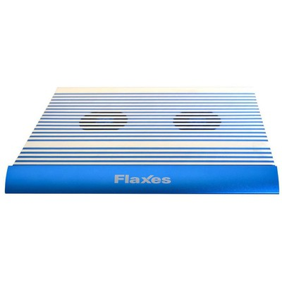 Flaxes FN-3333M Alüminyum Çift Fanlı 4 Usb Mavi Notebook Soğutucu