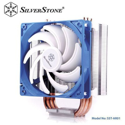 Silverston Sst-ar01 Ar01 12cm ,lga 1366/lga115x/lga775/lga2011 - Fm1/fm2/am2/am3 Cpu Soğ. Fan