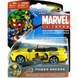 Maisto Marvel Power Racers 2010 Ford Mustang Gt Araba Arabalar