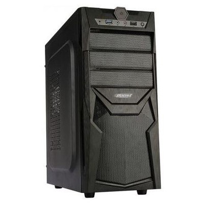 Boost Power Vk-c022b 350w Atx  Meshed Panel Full Siyah Kasa