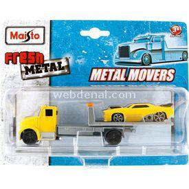 Maisto Fresh Metal Fmr Flatbed Ve Slayer Taşıyıcı Tır Arabalar