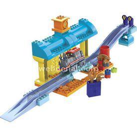 Mega Bloks Chuggington Repair Shed Oyun Seti Lego Oyuncakları