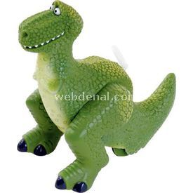 Necotoys Toy Story 3 Rex Ipli Çek Bırak Figür Oyuncaklar