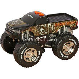 Road Rippers Şahlanan Sesli Kamyonet Dodge Ram Arabalar