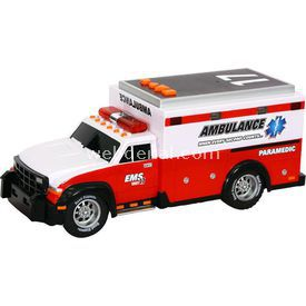 Road Rippers Rush Rescue Sesli Ve Işıklı Ambulans Aracı Arabalar