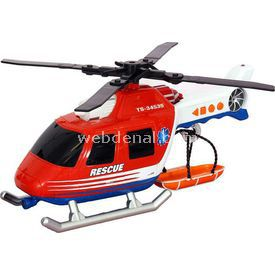 Road Rippers Rush Rescue Ses Işıklı Kurtarma Helikopteri Erkek Çocuk Oyuncakları