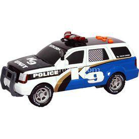 Road Rippers Rush Rescue Sesli Ve Işıklı Polis Aracı K9 Arabalar
