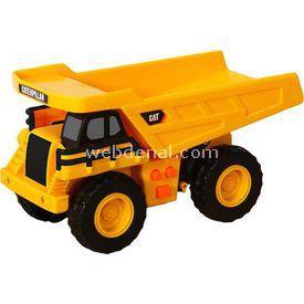 CAT Mini Sesli Ve Işıklı Dump Truck Iş Makinası Erkek Çocuk Oyuncakları