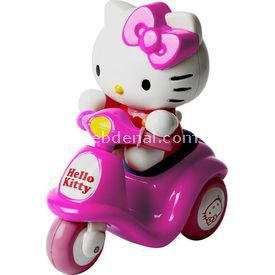 Necotoys Hello Kitty Mini Scooter Pembe Arabalar