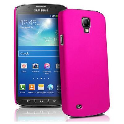 Microsonic Rubber Kılıf Samsung Galaxy S4 Active I9295 Pembe Cep Telefonu Kılıfı