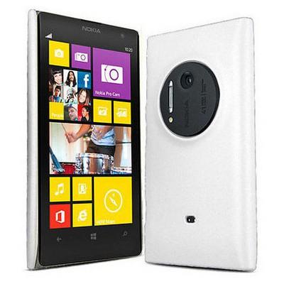 Microsonic Rubber Kılıf Nokia Lumia 1020 Beyaz Cep Telefonu Kılıfı