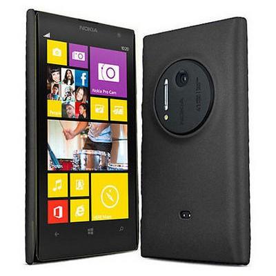 Microsonic Rubber Kılıf Nokia Lumia 1020 Siyah Cep Telefonu Kılıfı