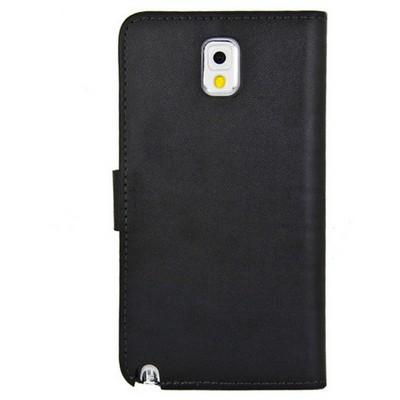 Microsonic Cüzdanlı Deri Kılıf - Samsung Galaxy Note3 N9000 Siyah Cep Telefonu Kılıfı
