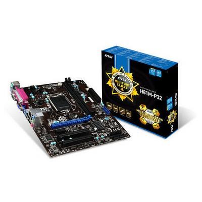MSI H81M-P32 Intel Anakart