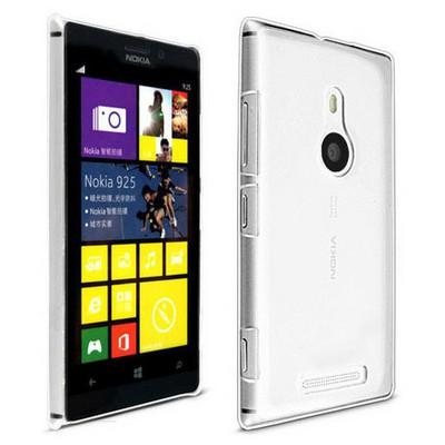 Microsonic Kristal Şeffaf Kılıf - Nokia Lumia 925 Cep Telefonu Kılıfı