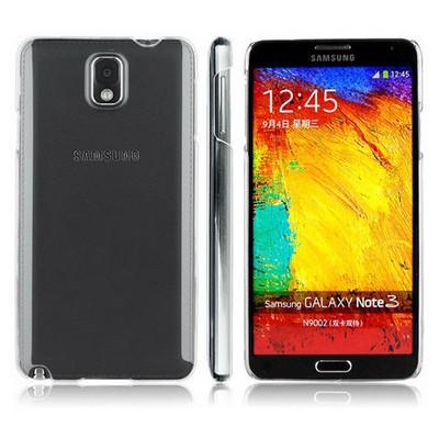 Microsonic Kristal Şeffaf Kılıf - Samsung Galaxy Note3 N9000 Cep Telefonu Kılıfı