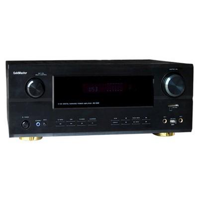 Goldmaster AV-500 USB 6 Kanal Ev Anfisi Amfi / Amplifikatör