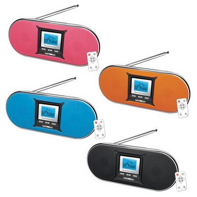 Goldmaster Sr-167 Taşınabilir Hoparlörlü Radyolu Oynatıcı MP3 Çalar & Radyo