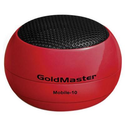 Goldmaster MOBİLE-10 Mini Cep ü (Kırmızı) Hoparlör