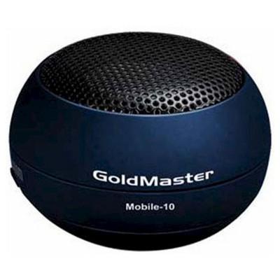 Goldmaster MOBİLE-10 Mini Cep Hoparlörü (Mavi) HiFi Bileşeni