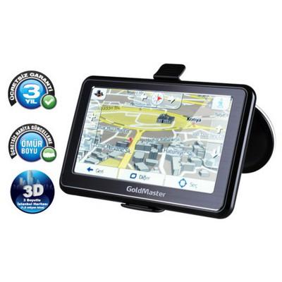 Goldmaster Nav-514 Gps Navigasyon Cihazı Oto Elektroniği
