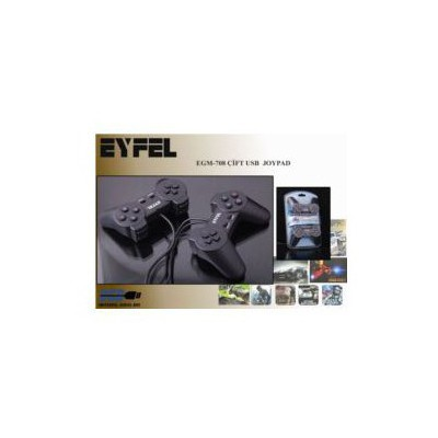 Eyfel Egm-708 Eyfel Egm-708 Çift Usb Joystıck Oyun Bileşeni