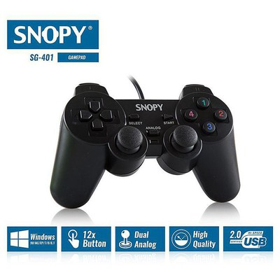 Snopy Sg-401 Snopy Sg-401 Usb Joypad Gamepad / Joystick