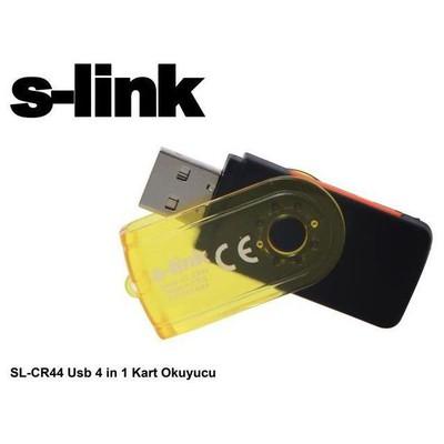 S-Link SL-CR44 Usb 4 in 1 Kart Okuyucu