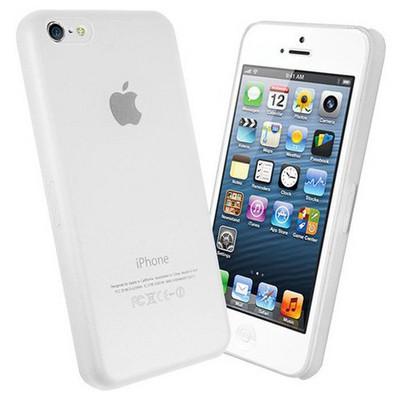 Microsonic Ultra Thin 0.2mm Kılıf Iphone 5c Beyaz Cep Telefonu Kılıfı