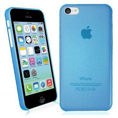 Microsonic Ultra Thin 0.2mm Kılıf Iphone 5c Mavi Cep Telefonu Kılıfı