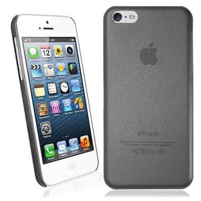 Microsonic Ultra Thin 0.2mm Kılıf Iphone 5c Siyah Cep Telefonu Kılıfı