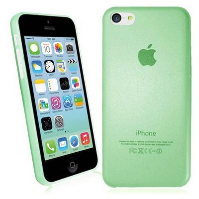Microsonic Ultra Thin 0.2mm Kılıf Iphone 5c Yeşil Cep Telefonu Kılıfı