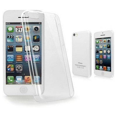 Microsonic Kristal Şeffaf Kılıf - Iphone 5c Cep Telefonu Kılıfı