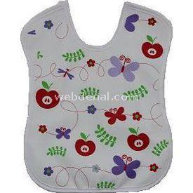 Sevi Bebe 11 Peva Bebek  Beyaz Elmalı Mama Önlüğü