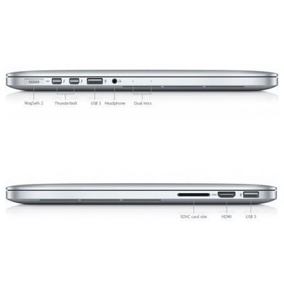"Apple Macbook Pro Retina ME865TU-A i5-2.4 Ghz 8 GB 256 GB 13.3"" Mac Os Laptop"