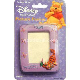 Necotoys Winnie The Pooh & Tigger Mor Resim Çerçevesi Albüm & Çerçeve