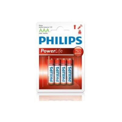 Philips Lr03p4b-97 Bat Alkalın Aaa Kalem 4 Lü Blister Pil / Şarj Cihazı