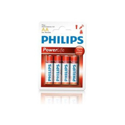 Philips Lr6p4b-97 Aa Tipi 1.5v Alkalin Pil.4'lü Blister Pil / Şarj Cihazı